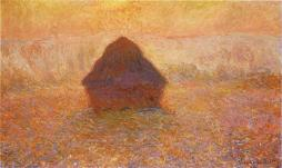 1286_Wheatstack_(Sun_in_the_Mist),_1891,_65_x_100_cm;_25_5-8_x_39_3-8_in.,_Minneapolis_Institute_of_Arts