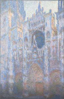 Catedral Rouen, fachada oriental, 1894, Monet