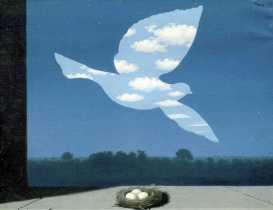 magritte_Le retour.1940.